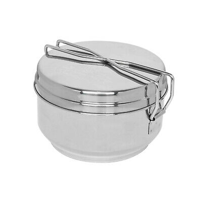 Helikon Tex MESS TIN Outdoor Camping Outback Stainless Kochtopf Set