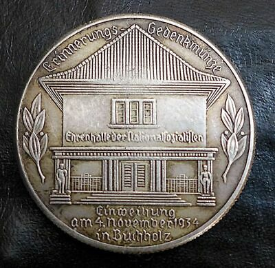 Germany 1 Schilling Kampfspende Exonumia Coin #2 Hitler Free Coins