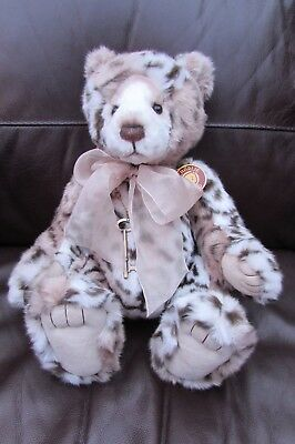 """Charlie Bears """" Geoffrey """" Exclusively Designed By Isabelle Lee 2013 Retired"""