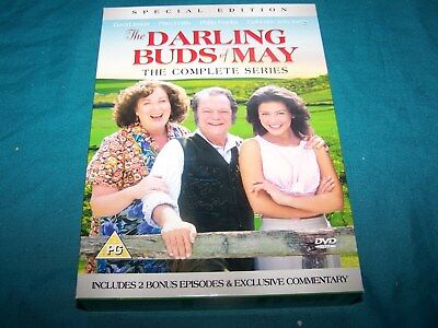 The Darling Buds of May ~ The Complete Series ~  6 disc DVDs ~ PAL Region 2 ~ PG