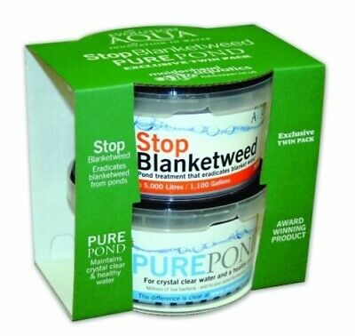 Stop Blanketweed & Pure Pond Twin Pack by Evolution Aqua