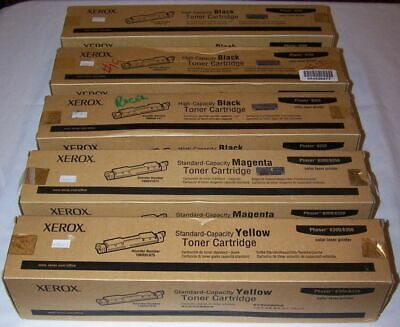 Genuine Xerox 106R01075 Yellow Toner Cartridge Phaser 6300//6350 FACTORY SEALED