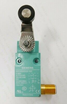 Siemens Sirius 3SE5 Safety Limit Switch with Roller Plunger Actuator; NC/NO NEUF
