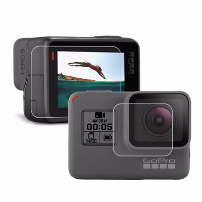 PULUZ Camera Lens Protective Film LCD Dispaly Screen Protector for Gopro Hero 5