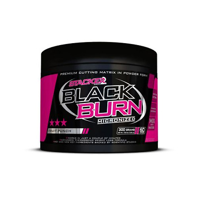 BLACK BURN MICRONIZED STACKER 2 aromes citron