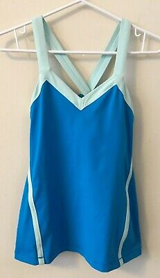 d603adacd0232 Lululemon Athletica Size 6 Athletic Workout Yoga Sleeveless Tank Top