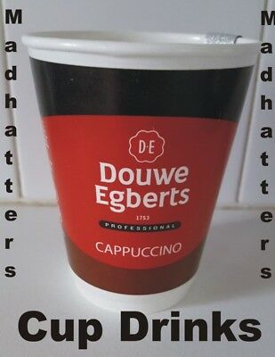 douwe egberts cappuccino In Cup Drinks 2GO 12oz 340ml 150 drinks