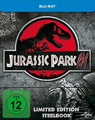 Jurassic Park 3 - Steelbook [Blu-ray] [Limited Edition] [Blu-ray] [2001]