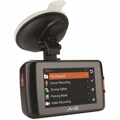 Mio MiVue 608 1080p HD 2.7 Screen HD Car Dash Cam Accident Recorder Dual SD Card
