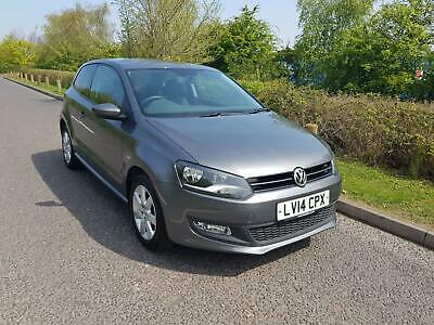 2014 Volkswagen Polo 1.2 60ps  Match Edition, 74557 MILES, ONLY 1 OWNER FROM NEW