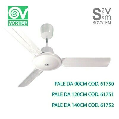 Ventilatore A Pale Vortice Nordik Evolution Da Soffitto Con Pale Da 90-120-140Cm