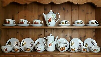 Royal Worcester Evesham Gold Porcelain Tea & Coffee Set Items -Sold Individually