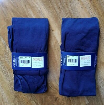 Boden Ladies Gorgeous Opaque Navy Tights Size S/M Pack Of 2 Pairs Brand New