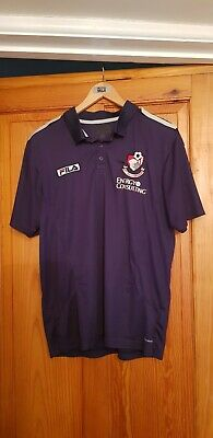 065...Fila AFC Bournemouth Blue Polo Shirt Top.