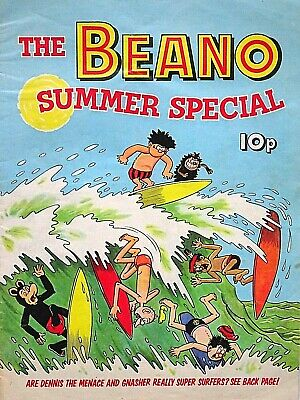 THE BEANO - 1972 SUMMER SPECIAL - VERY RARE & COLLECTABLE !! FINE..beezer topper