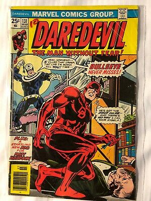 DAREDEVIL #131, with 1st BULLSEYE, FN+