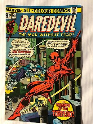 Daredevil Vol. 1 - #126 | Torpedo | Marvel Comics - October 1975