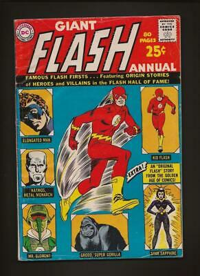 The Flash Annual 1 VG- 3.5 Hi-Res Scans
