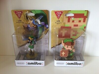 The Legend Of Zelda 30th Link(the Legend Of Zelda)+link(ocarina Of Time)1st Seal