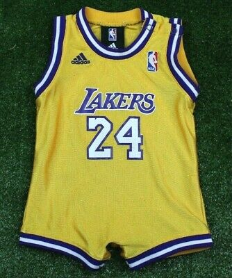 f7dbc2ee504 Adidas Los Angeles Lakers Jersey Kobe Bryant Toddler Size 12 months Baby  Infant