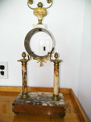 Vintage empty clock case for parts and repairs