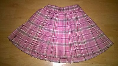 Mothercare Pink Plaid Skirt Age 12-18 Months