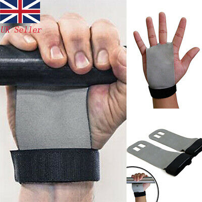 ead4c6718a73 1Pair Gloves Crossfit Guard Leather Hand Grip Protector Pull Up Gymnastics  Glove