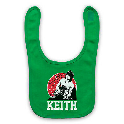 Keith Richards Guitar The Stones Unofficial Legend Baby Bib Cute Baby Gift