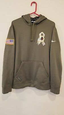 422735d5e Washington Redskins 2014 Nike Therma Fit Salute To Service Large Hoodie