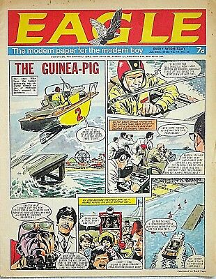 EAGLE - 20th JULY 1968 (17 - 23 July) - YOUR WEEK OF BIRTH ?? VG+...victor dandy