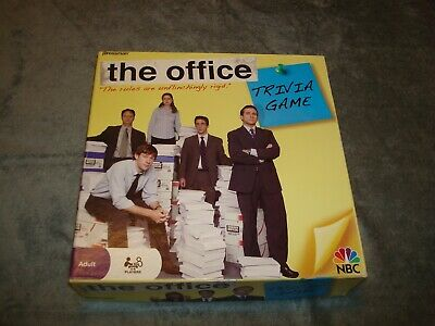 The Office Trivia Board Game 100% Complete Nbc Tv Pressman Dunder Mifflin 2008