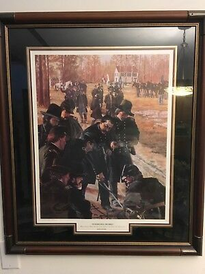 DON STIVERS  SIGNED CIVIL WAR PRINT  To Make Hell Tremble 167/1300  Framed