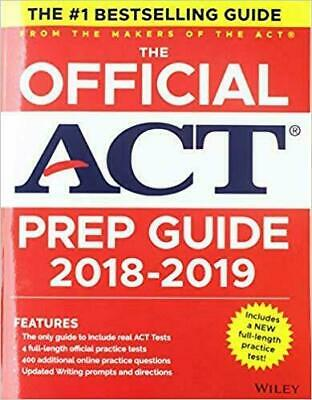 The Official Act Prep Guide by Act Staff (2018,eBooks,PDF)