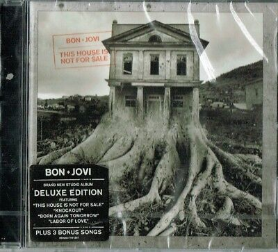 BON JOVI - This house is not for sale ( Deluxe edition / Brand new & sealed)