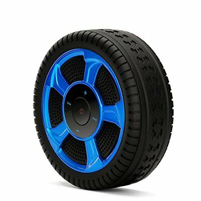 Bluetooth Speaker,Kwow Tire Shape Wireless Portable Bluetooth 4.2 Stereo Outdoor