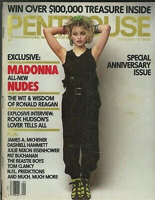 PENTHOUSE MAGAZINE SEPTEMBER 1985 Madonna in the Nude