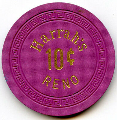 Harrah's Hotel/Casino, Reno - 10c Chip -1948