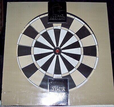 Nib ! Cigar Aficionado Dart Board - Vintage - 20 Years Old - New !