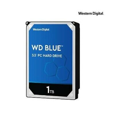 "WD WD10EZEX Blue 1TB 3.5"" Desktop Hard Disk Drive HDD 7200RPM SATA3 6Gb/s 64MB"
