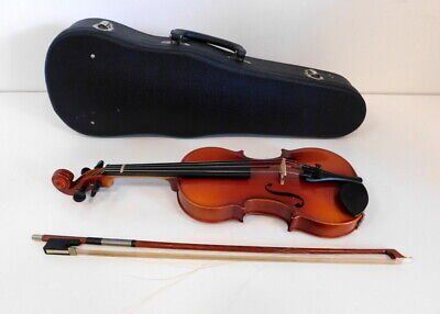 Suzuki Violin No 220 1/8 Size Made In Japan In Case With Bow