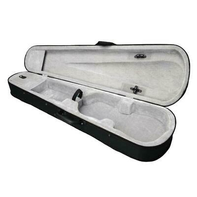 New Silver Gray Inside 4/4 Full Size Acoustic Violin Case Oxford fabric