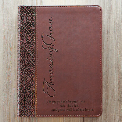 Amazing Grace LuxLeather Journal by Christian Art Gifts