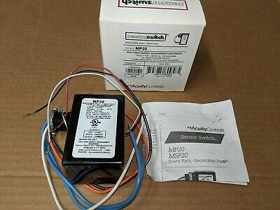 Acuity Controls SensorSwitch MP20 Mini Power Pack 120/277VAC for 15vdc Switching