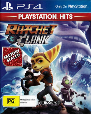 PS4 Game ✨ RATCHET & CLANK ✨ Classic Mega-Action! ***SEALED*** LAST ONE!