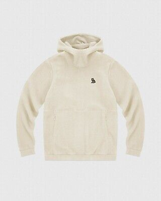1903709d94e664 OVO October s Very Own Polartec Sherpa Hoodie Sweatshirt Size Large Ivory  New DS