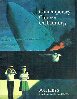 Sothebys April 1996 Contemporary Chinese Oil Paintings