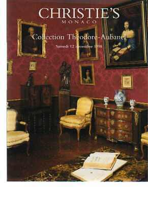 Christies 1998 Theodore-Aubanel Collection