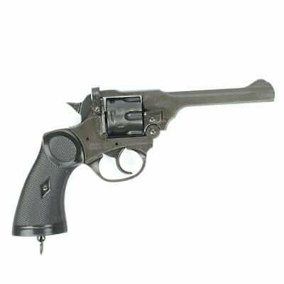 MK4 Webley 1923 British Non-Firing Prop Revolver, Working Parts by Denix, New