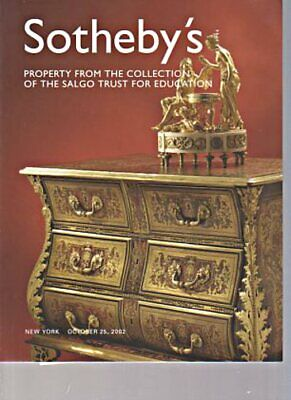 Sothebys 2002 Property from the Collection of Salgo Trust