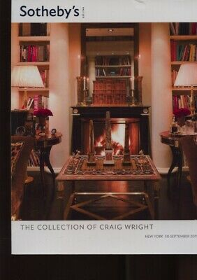 Sothebys 2011 The Collection of Craig Wright